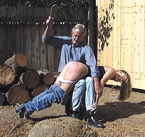 Big spank too