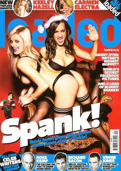 Rosie Jones And Amy Green Loaded Magazine January 2010 001