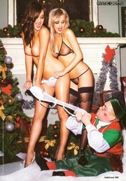 Rosie Jones And Amy Green Loaded Magazine January 2010 011