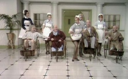 benny hill naughty nurses