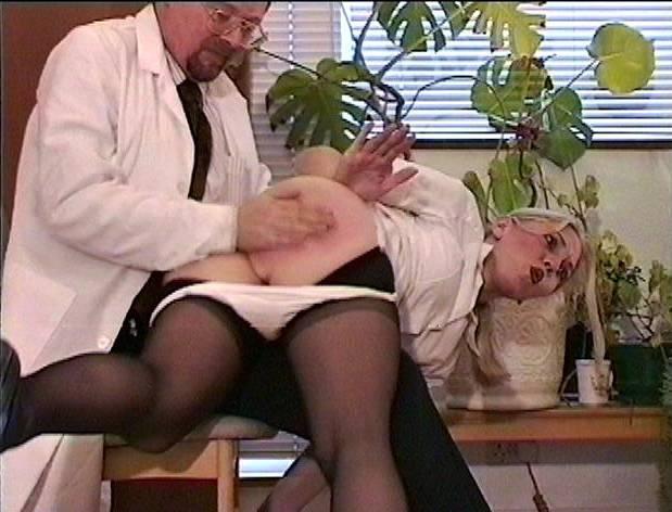 Temperature rising naughty nurses get spanked hard - 1 part 3