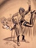 humorama bill ward careless waitress spanking collector108