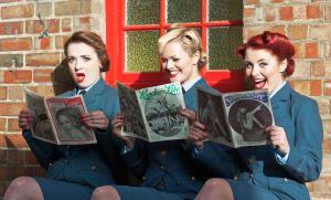 The Three Belles read London Life and are shocked at what they find but cant resist a little giggle