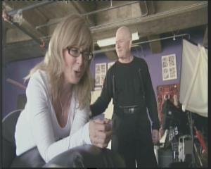 Ernest Greene canes Nina Hartley